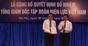 Ông Đặng Hoàng An nhận Quyết định làm Tổng Giám đốc EVN
